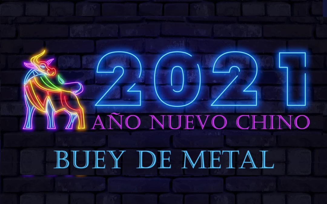 Año Nuevo Chino Buey de Metal 2021